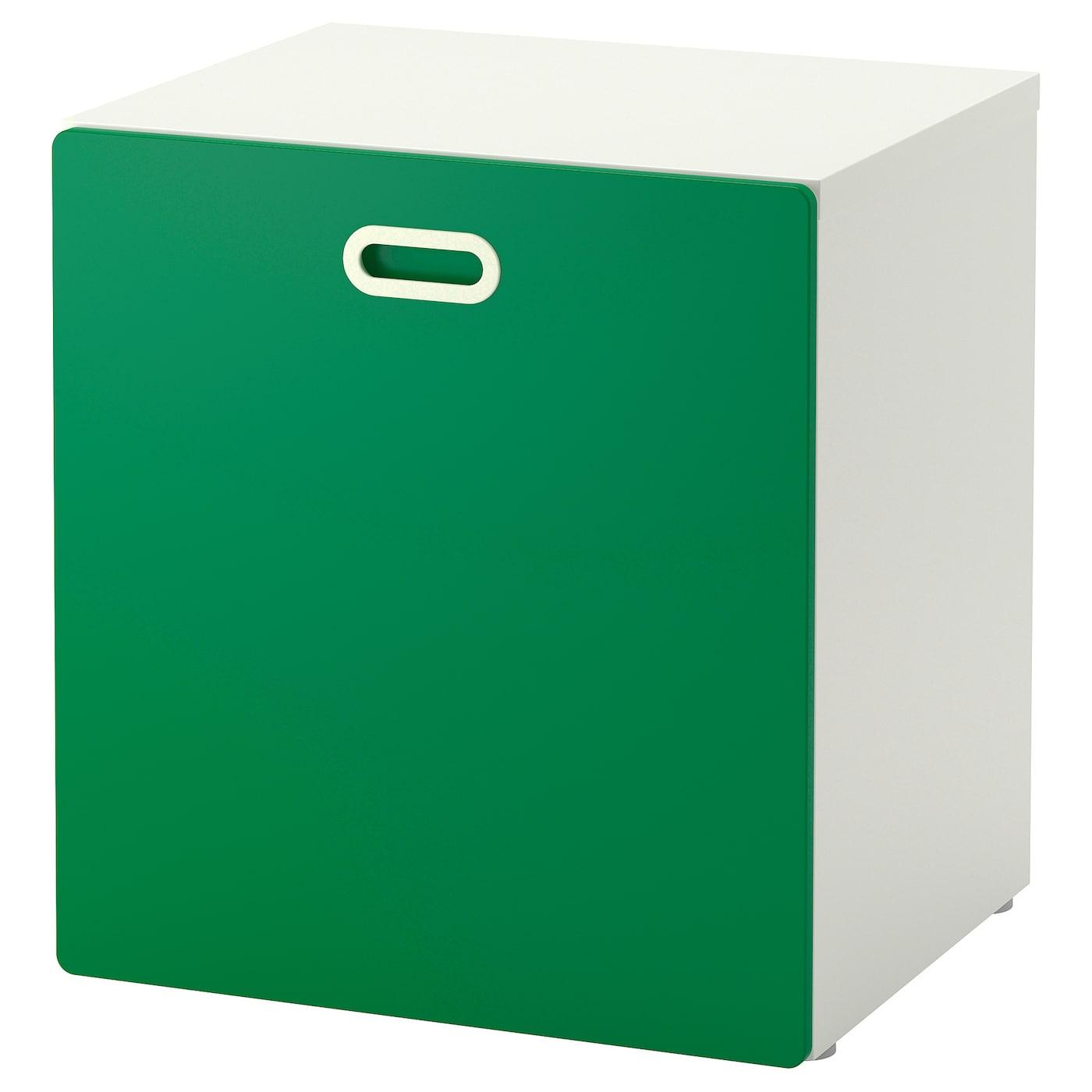 Модуль для игрушек, на колесиках, белый/зеленый 60x50x64 см IKEA STUVA СТУВА / FRITIDS ФРИТИДС 192.796.10 купить в Минске, цена