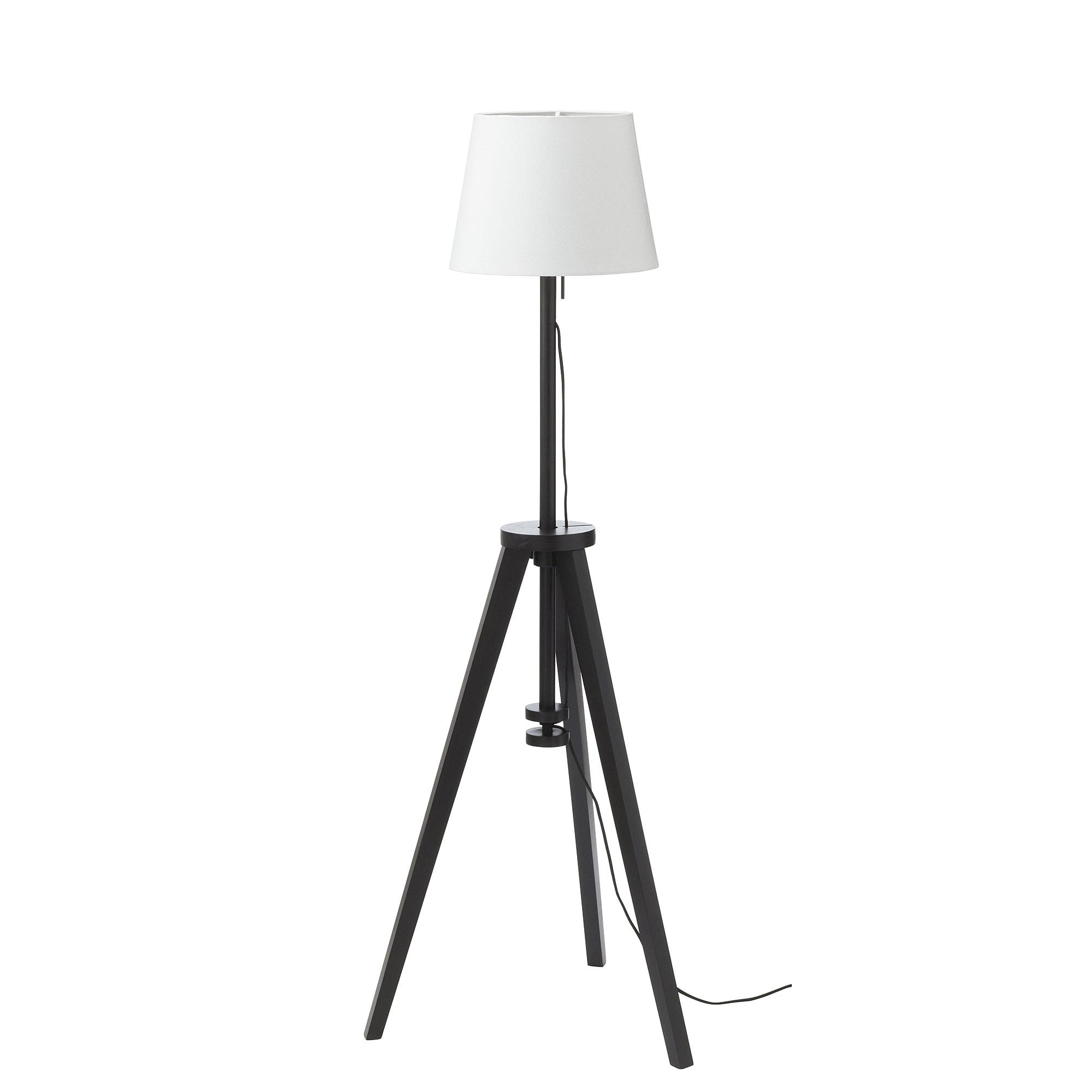 Светильник напольный ЭРА / ЛАУТЕРС, белый, коричневый (33 см)