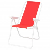 Кресло с регулируемой спинкой ХОМЭ красный артикуль № 204.256.77 в наличии. Онлайн сайт IKEA Минск. Недорогая доставка и установка.