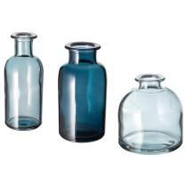 Набор ваз, 3 штуки СОММАР 2019 синий артикуль № 704.295.31 в наличии. Онлайн магазин IKEA Республика Беларусь. Быстрая доставка и монтаж.