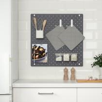Настенная панель, комбинация СКОДИС черный артикуль № 893.035.41 в наличии. Онлайн магазин IKEA Республика Беларусь. Недорогая доставка и соборка.
