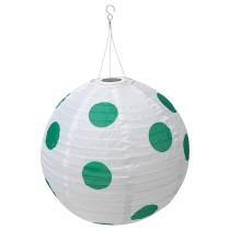 Подвесная светодиодная лампа СОЛВИДЕН зеленый артикуль № 604.219.84 в наличии. Online сайт ИКЕА РБ. Быстрая доставка и установка.