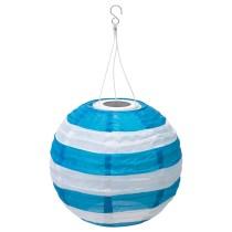 Подвесная светодиодная лампа СОЛВИДЕН синий артикуль № 704.219.93 в наличии. Онлайн сайт IKEA Минск. Быстрая доставка и монтаж.