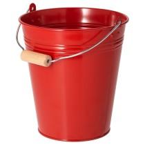 Ведро/горшок СОККЕР красный артикуль № 104.189.55 в наличии. Онлайн каталог IKEA Беларусь. Быстрая доставка и соборка.