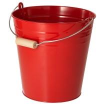 Ведро/горшок СОККЕР красный артикуль № 504.189.58 в наличии. Online каталог IKEA Минск. Быстрая доставка и монтаж.