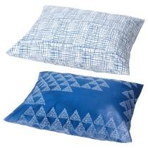 Наволочка ТЭНКВЭРД белый/синий артикуль № 404.320.16 в наличии. Интернет сайт IKEA Республика Беларусь. Недорогая доставка и установка.