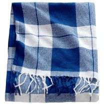 Плед АННАМИА синий артикуль № 004.441.63 в наличии. Интернет сайт IKEA Республика Беларусь. Быстрая доставка и установка.