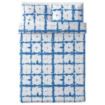 Пододеяльник и 2 наволочки ТЭНКВЭРД синий артикуль № 904.347.63 в наличии. Онлайн каталог IKEA Минск. Недорогая доставка и монтаж.
